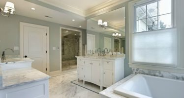 REDESIGNING A BATHROOM INTO A MORE RELAXING SPACE